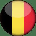 Belgium Flag Round 3D Icon