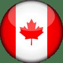 Canada Flag Round 3D Icon
