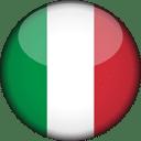 Italy Flag Round 3D Icon