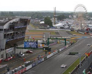 24 Hours of Le Mans track view
