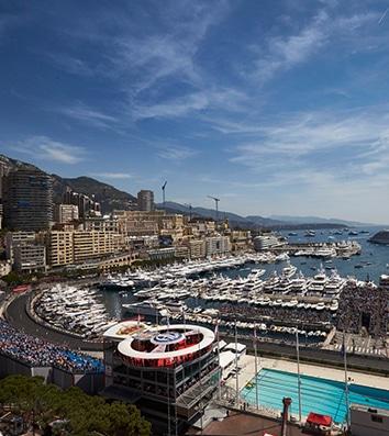 Monaco Grand Prix Pool & Track