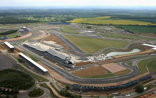 British Grand Prix Aerial View