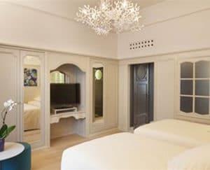 Tours, France Hotel Room