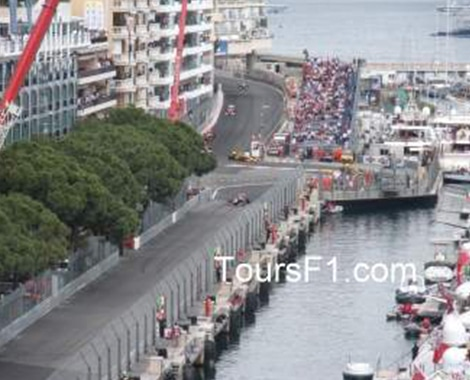 Monaco Grand Prix Tunnel Chicane