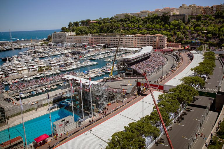 Monaco Grand Prix Pool View