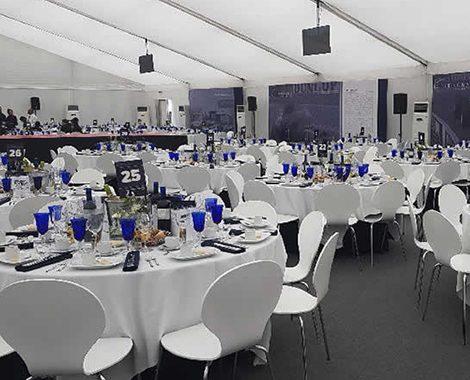 British Grand Prix Platinum Hospitality Food Area