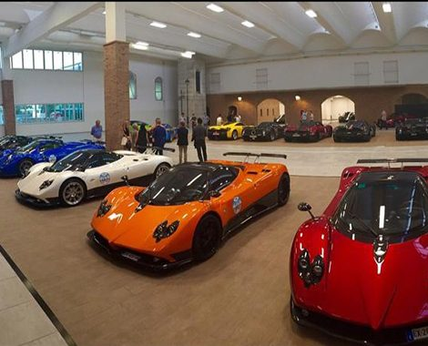 Pagani Factory Showroom