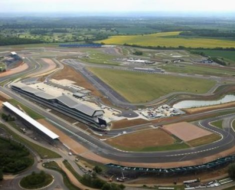 British Grand Prix Silverstone Aerial View