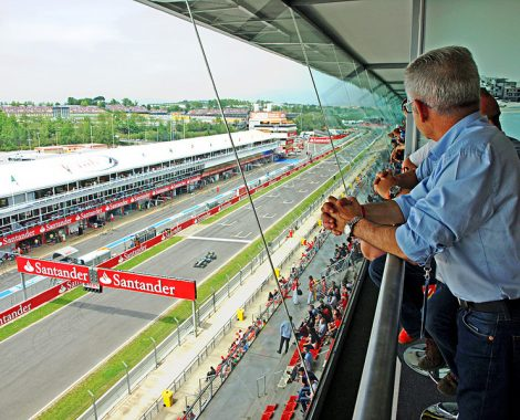 Spain Grand Prix view from suite