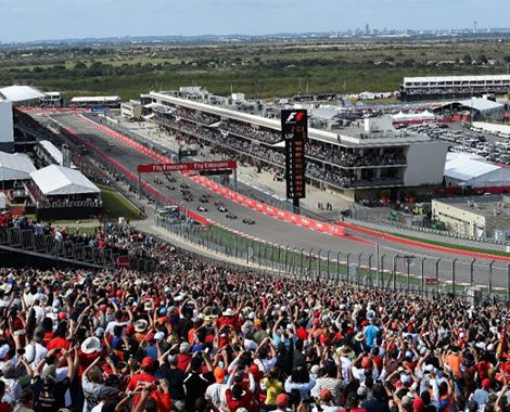 United States Grand Prix Hospitality Track View
