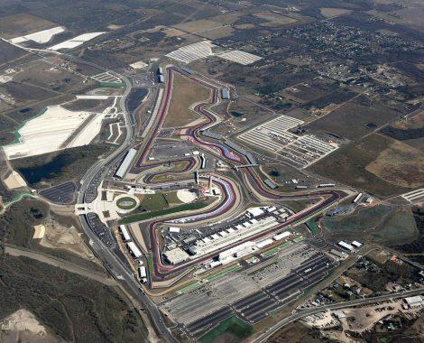 United States Grand Prix Aerial View