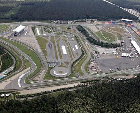 German Grand Prix Aerial View