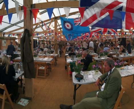 Goodwood Revival Officers Mess